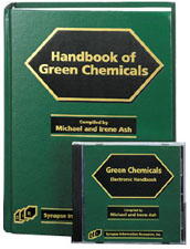 Handbook of Green Chemicals (Book and Software)