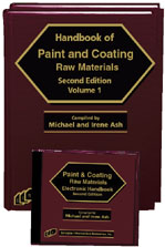Handbook of Paint and Coating Raw Materials (Book and Software)