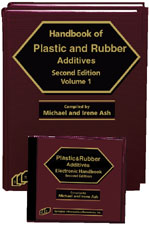 Handbook of Plastic And Rubber Additives-Second Edition (Book and Software)