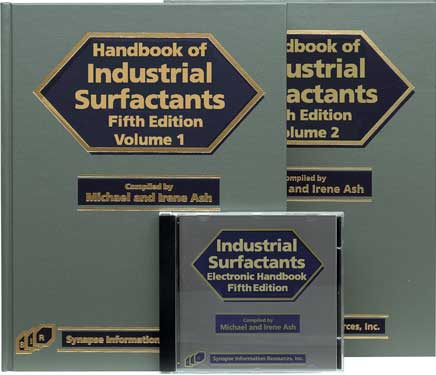 Handbook of Industrial Surfactants-Fifth Edition (Book and Software)