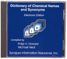 Dictionary of Chemical Names and Synonyms Electronic Edition